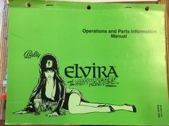 Elvira and the Party Monsters Operations Manual - Original Used