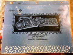 Funhouse Operations Manual - Original Used