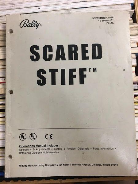 Scared Stiff Operations Manual - Original Used