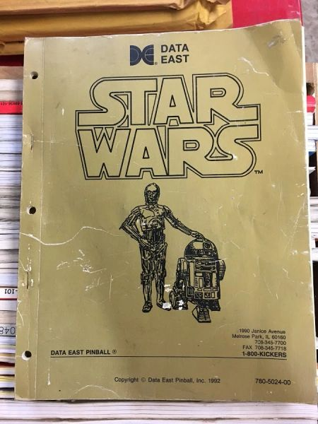 Star Wars SW Operations Manual - Original Used