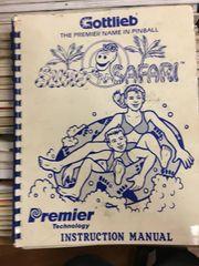 Surf'n Safari Operations Manual - Original Used