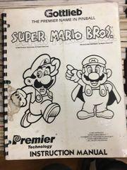 Super Mario Brothers SMB Operations Manual - Original Used