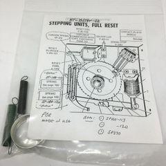 Spring Kit Bally Stepper Full Reset KT-BSTEP-02