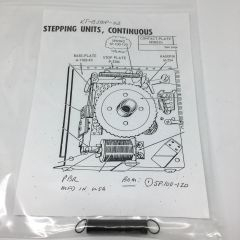 Spring Kit Bally Continuous Stepper KT-BSTEP-03