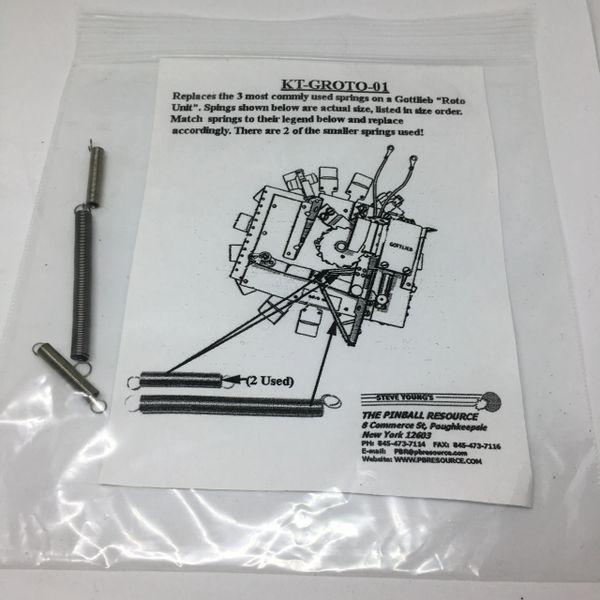 Spring Kit Gottlieb Roto Target GROTO-01