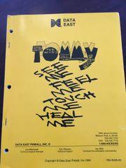 Tommy Original Manual - Very Clean