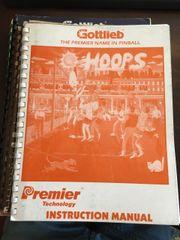 Gottlieb Premier Hoops Instruction Manual / Schematics