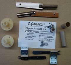 Gottlieb Flipper Rebuild Mini Kit - Mibs 9/69 - Card Whiz 7/76