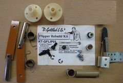 Gottlieb Flipper Rebuild Mini Kit - Gypsy Queen 1/55 - Lariat 9/69