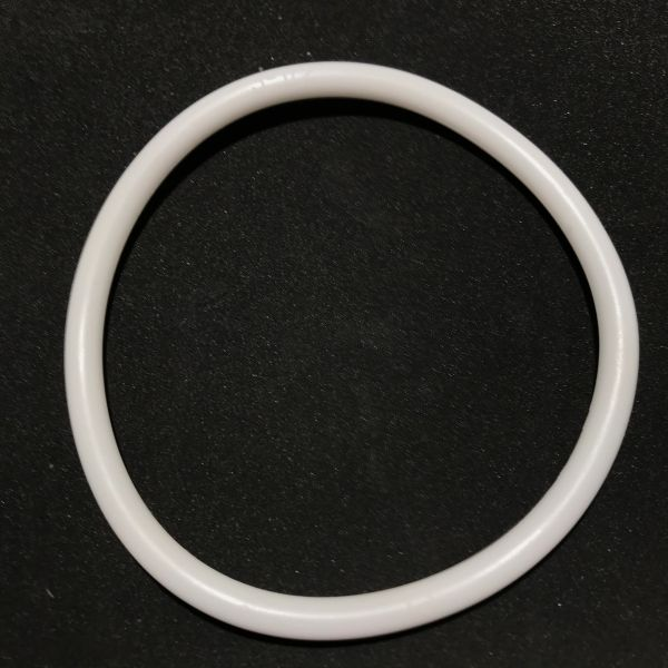 PerfectPlay Premium Silicone White Ring 3-1/2""