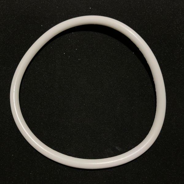 """Premium Silicone White Ring 4"""""""