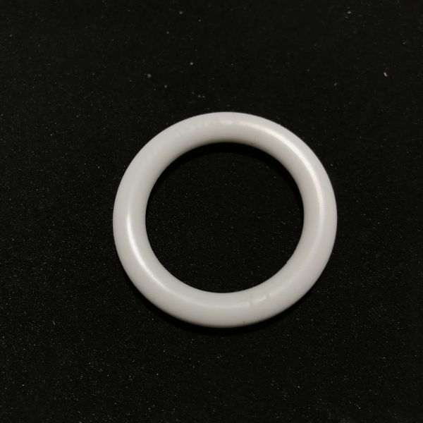 PerfectPlay Premium Silicone White Ring 1-1/4""