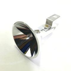 04-10094 Reflector and Socket - 1 Piece Silver