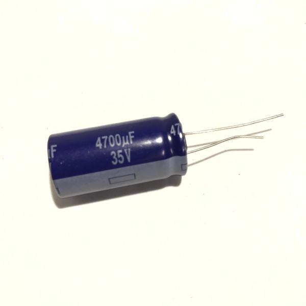 4700uF 35V Radial Electrolytic Capacitor