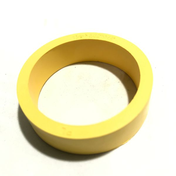 "23-6519-6 Standard 1-1/2"" x 1/2"" Flipper Rubber Yellow"