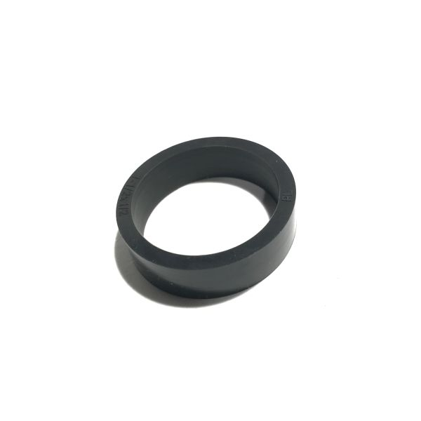 "23-6695 Standard 1-1/2"" x 1/2"" Flipper Rubber Black"