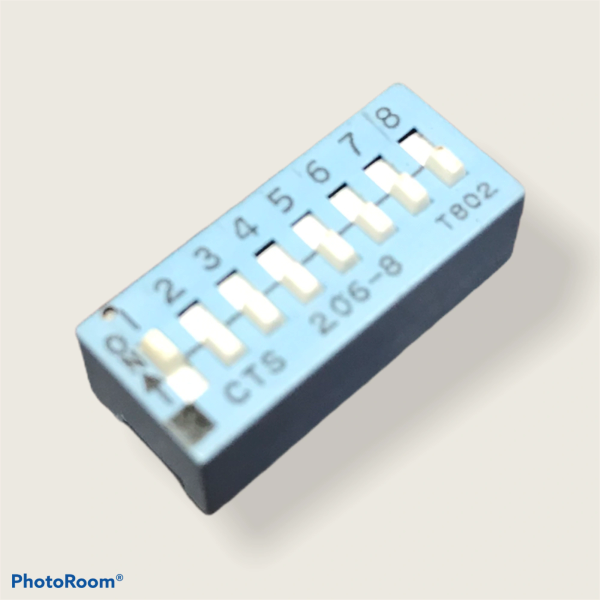 8-Way Dip Switch Assembly