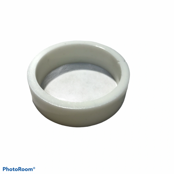 """PerfectPlay™ Silicone Flipper Rings 1-1/2"""" x 1/2"""" WHITE"""