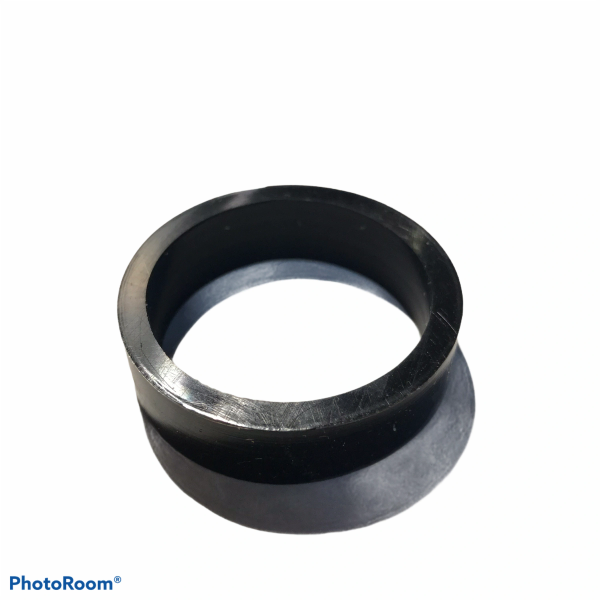 """PerfectPlay™ Silicone Flipper Rings 1-1/2"""" x 1/2"""" BLACK"""