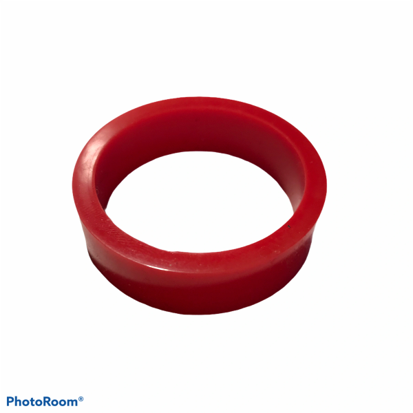 """PerfectPlay™ Silicone Flipper Rings 1-1/2"""" x 1/2"""" RED"""