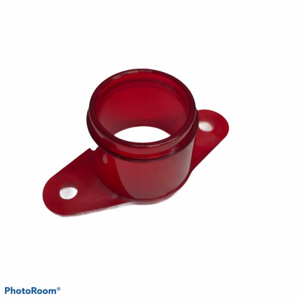 C-904RT Early Bally Flipper Button Housing - Red Translucent