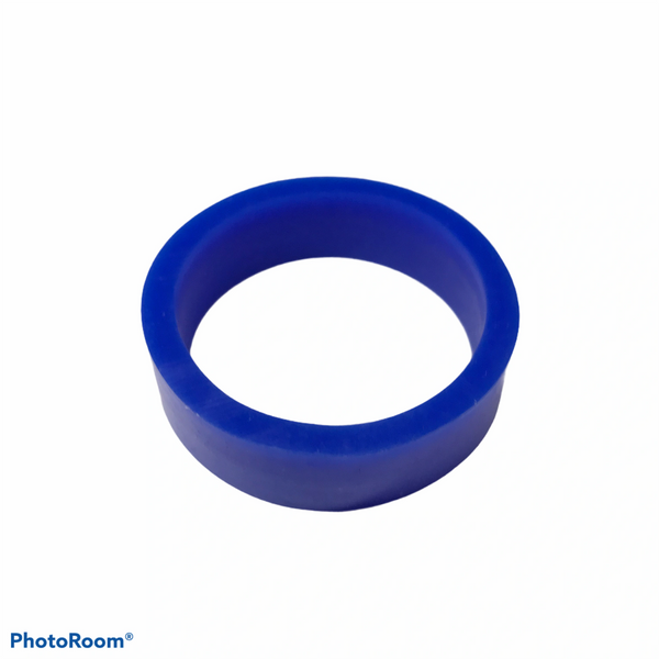 """PerfectPlay™ Silicone Flipper Rings 1-1/2"""" x 1/2"""" BLUE"""