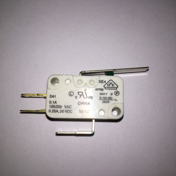 180-5009 Microswitch for Outhole - Flat Blade Actuator