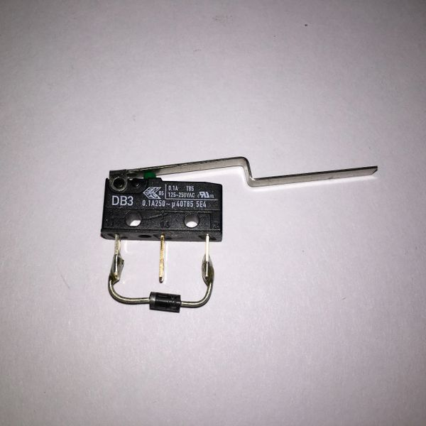 180-5090-00 Microswitch DA3 with flat blade