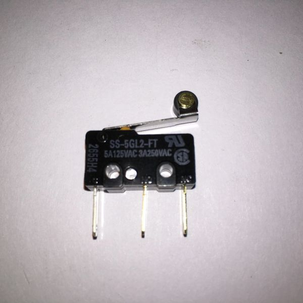 180-5119-02 Ball Detect Microswitch with Roller Light Touch