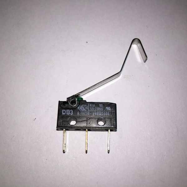 5647-12693-21 Williams Bally Microswitch with Blade and Bend at End