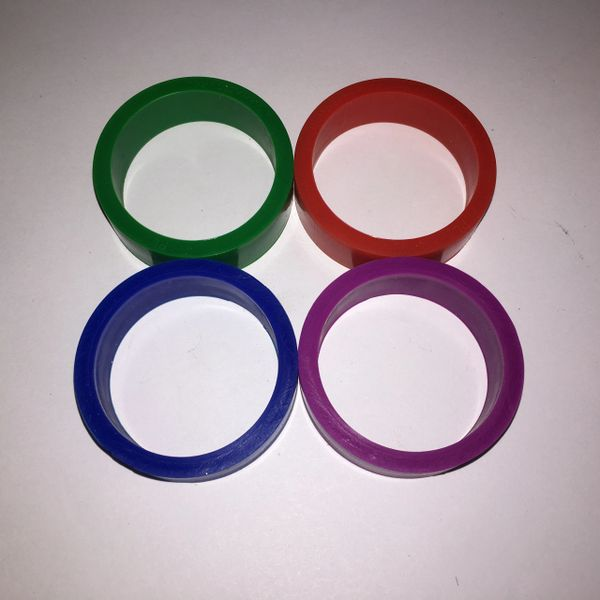 "PerfectPlay™ Silicone Flipper Rings 1-1/2"" x 1/2"""