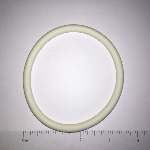 White Rubber Ring 4""