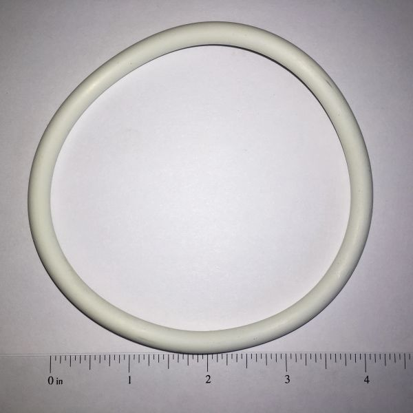 White Rubber Ring 4-1/2""