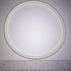 "White Rubber Ring 6"" - Premium White"