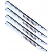 Four Chrome System 11 Leg Set Half Rib. 01-2263-2, 01-2263-3 C-10843-3