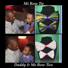 Daddy & Me Bow Tie (2 Bow Ties)