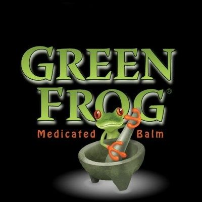 green frog balm