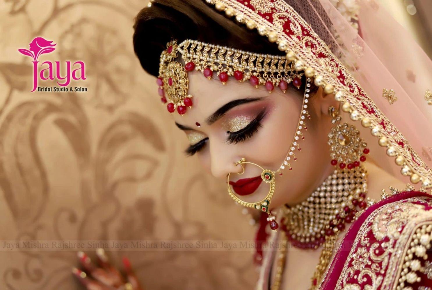 best bridal makeup - jaya premium bridal makup studio & spa