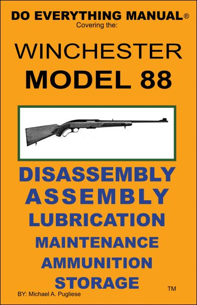 WINCHESTER MODEL 88 DO EVERYTHING MANUAL