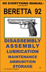 BERETTA 92 DO EVERYTHING MANUAL