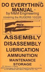 RUGER 10/22 DO EVERYTHING MANUAL