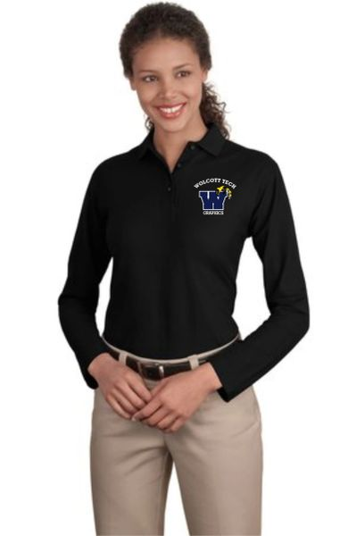 Graphics Ladies Long Sleeve Polo