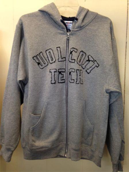 Wolcott Tech Full Zip Jerzee Hoodie 93CR