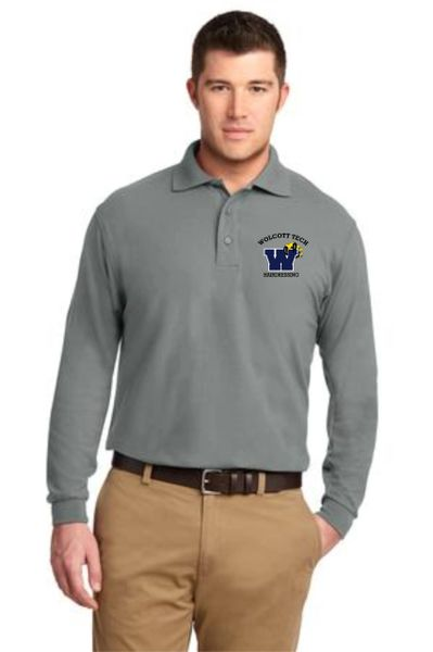 Hairdressing Men's Long Sleeve Polo