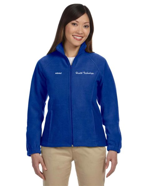 Health Tech Ladies Full Zip Fleece Jacket