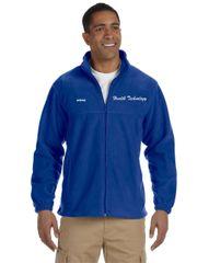 Health Tech Men's Full Zip Fleece Jacket
