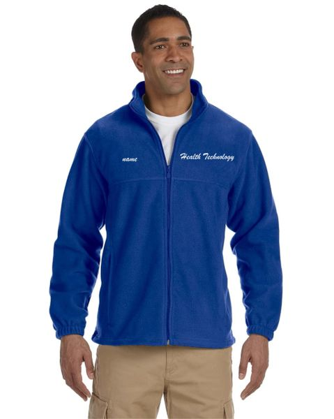 Health Tech Men's Full Zip Fleece Jacket