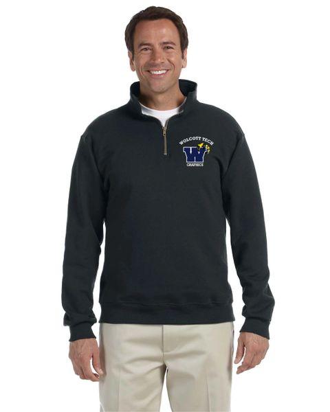 Graphics 1/4 Zip Pullover Sweatshirt
