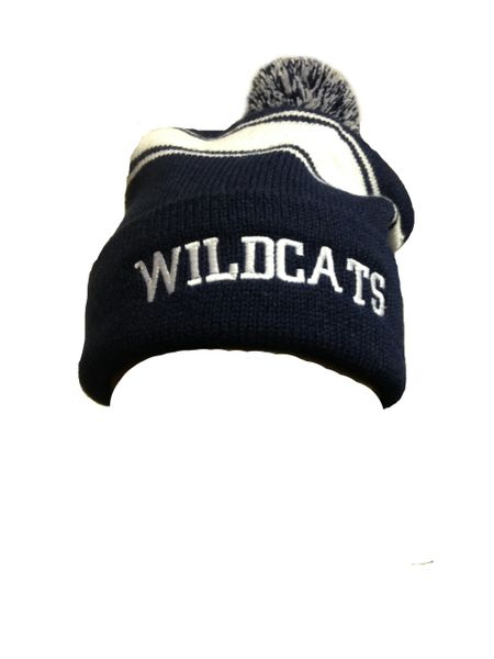 Wildcats Puff Ball Beanie