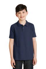 Youth Short Sleeve Academic Polo